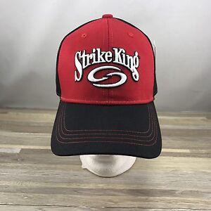 3318a6fd163 Image is loading Strike-King-Lure-Baseball-Cap-Hat-Adjustable-Black-