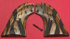 Heritage Arms Rough Rider Wood Grips .22 lr / .22 mag Star & Stripes WW