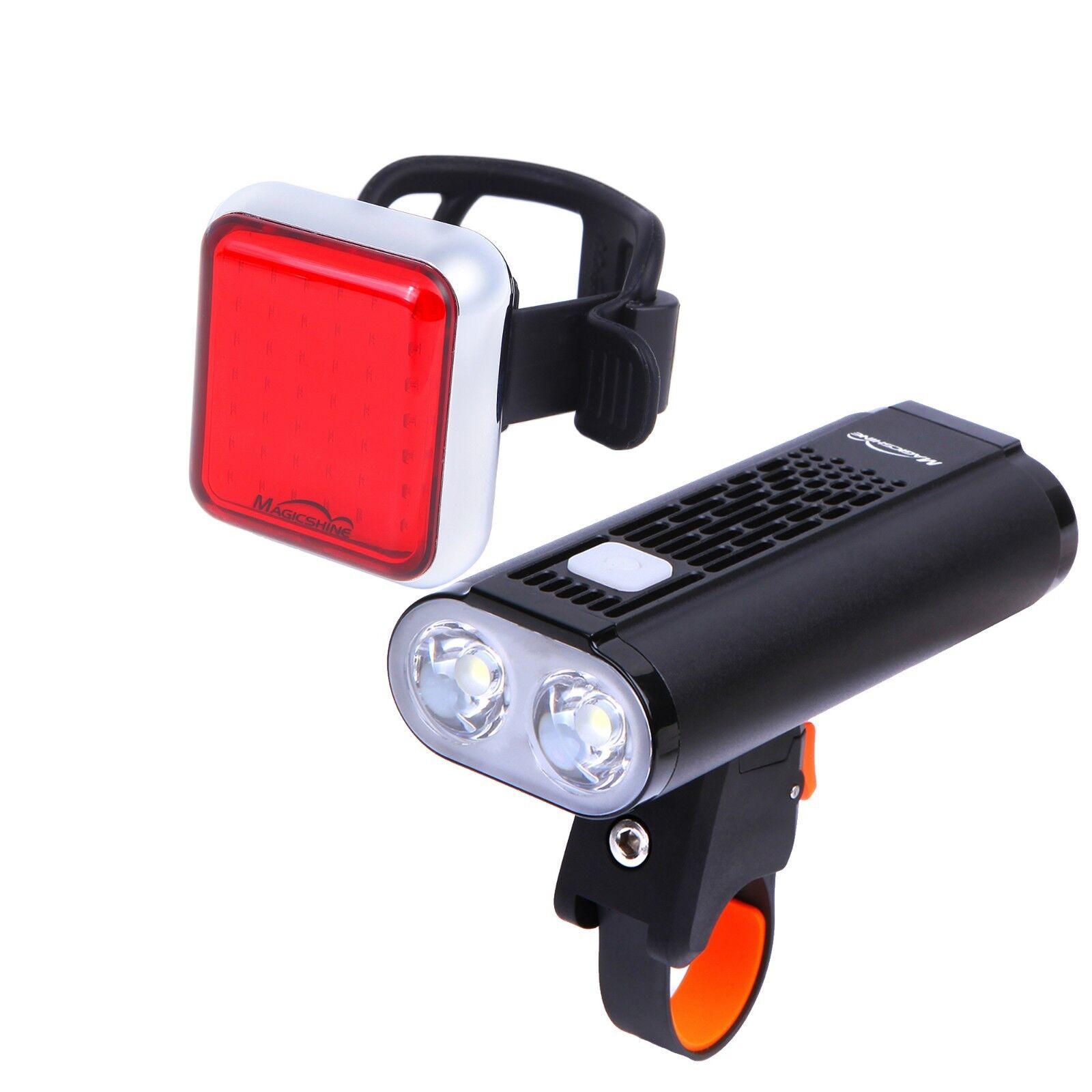 Magicshine Monteer 1400 Bicycle Headlight + Seemee 60 Bike Taillight Blinker