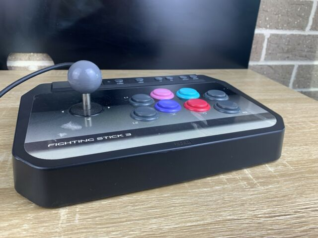 Hori Fighting Stick 3 USB Arcade Stick For PS3 Good Condition No Sticky Controls