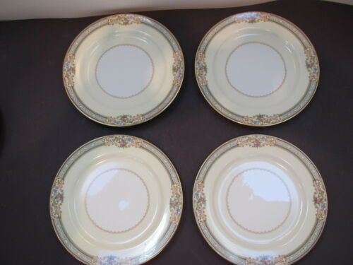 "Noritake Occupied Japan Lynwood pattern 4-7 5//8/"" D salad plates-excond"