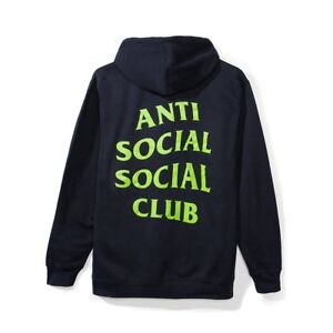 0946cc984385 Image is loading ASSC-Anti-Social-Social-Club-Seal-Navy-Hoodie-
