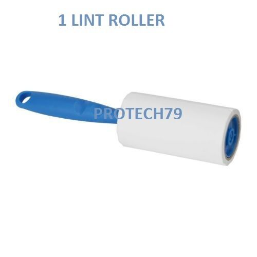 LINT REMOVER ROLLER STICKY BRUSH DUST FLUFF FABRIC PET DOG HAIR CLOTHES BY IKEA
