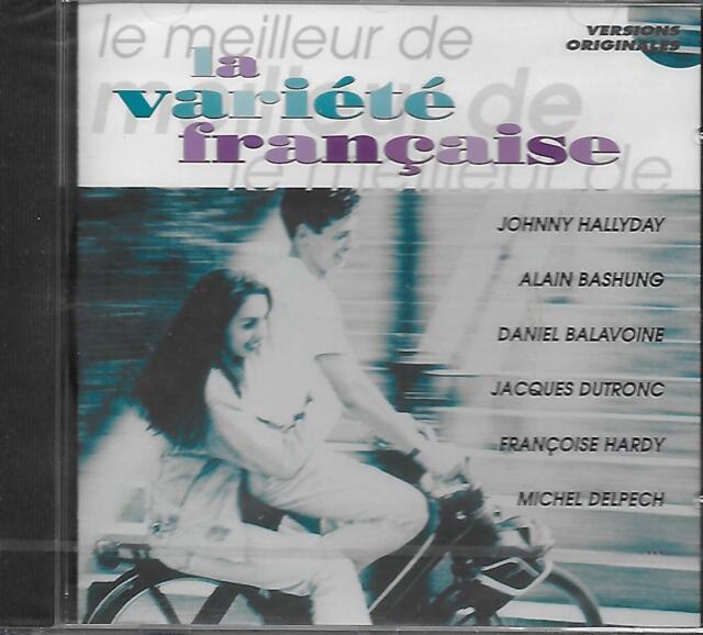 CD album: Compilation: Le Meilleur de la Variété Française. Polygram. S
