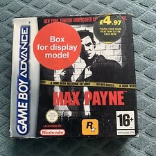 Max Payne Nintendo Game Boy Advance 2003 For Sale Online Ebay