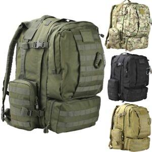 Image Is Loading Military Rucksack 60 Litre Bergen Patrol Bag Mtp