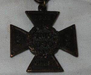Vintage-medal-JMC-DSO-For-zeal-for-Christ-1920-1928-medallion-with-ribbon