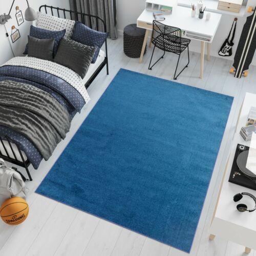 Teppich Kurzflor Modern Einfarbig Wohnzimmer Schlafzimmer Jugendzimmer ÖKOTEX