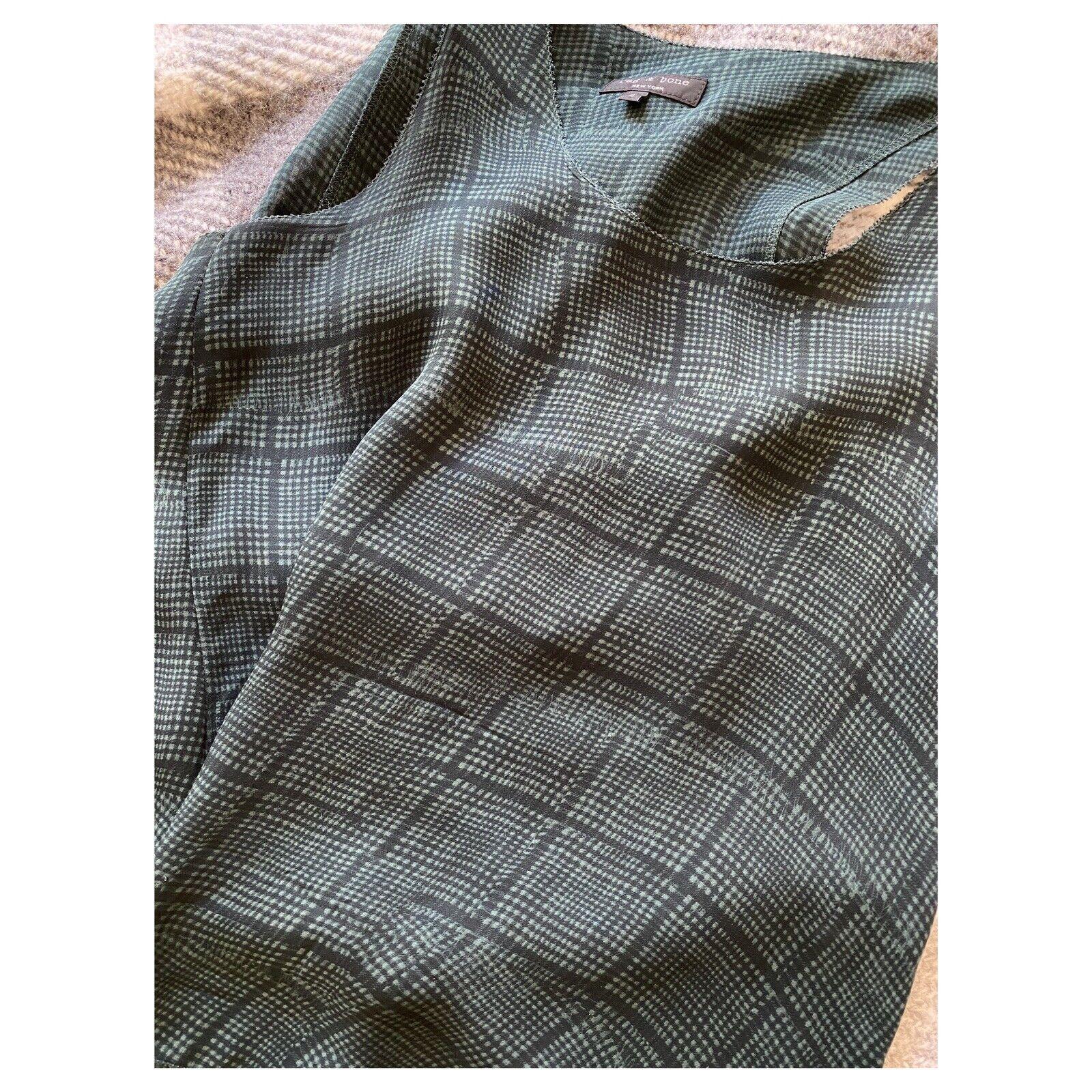 rag and bone silk blouse size 4 excellent conditi… - image 6