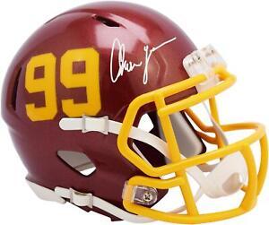 Chase Young Washington Football Team Signed 99 Decal Mini Helmet - Fanatics