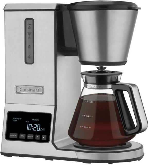 Clear Cuisinart CPO-800 Pour Over Coffee Brewer Glass Carafe Home ...