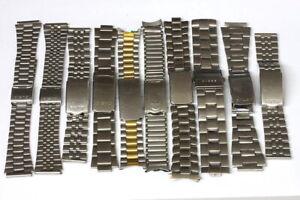 Lot-of-vintage-mixed-mens-bracelets-for-parts-restore-139050