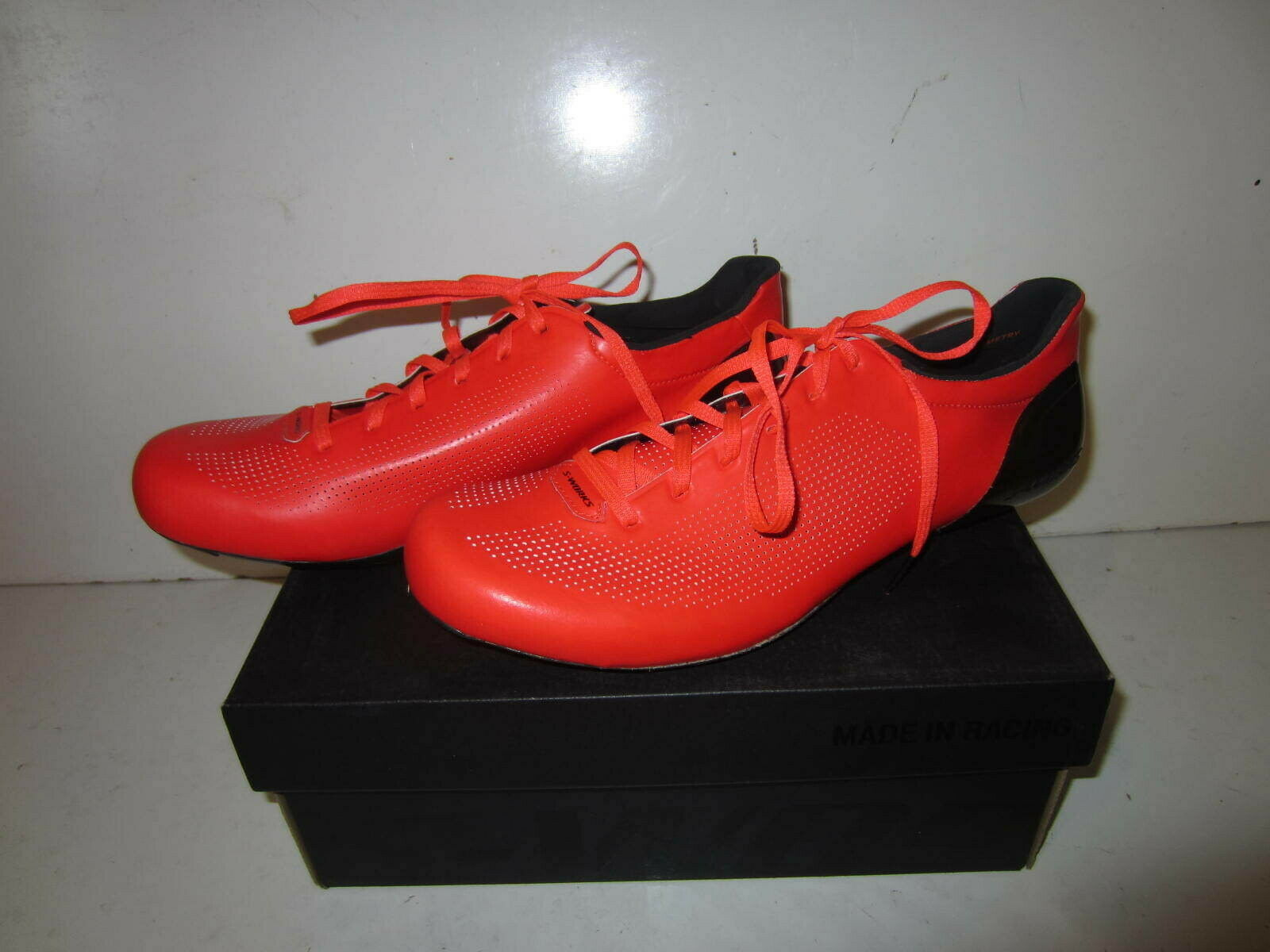 NEW - Specialized S-Works Sub-6 Road Shoes, Rocket Red (Select Size)