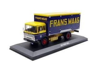 Camion Livraison Bache Daf 2600 Frans Maas 1965 Ixo Tru020 1/43 Truck