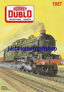 Hornby Railways 1950/'s Vintage Poster A4 Size Leaflet Advert Shop Display Sign 2