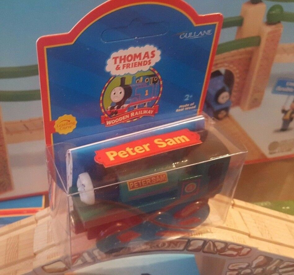 RARE UNPUNCHED MINT 2001 THOMAS & FRIENDS WOODEN RAILWAY   PETER SAM  LC99069