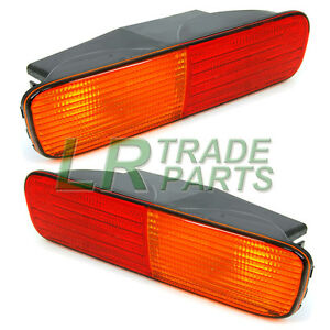 LAND-ROVER-DISCOVERY-2-REAR-BUMPER-LIGHTS-LAMP-SET-PAIR-XFB101480-XFB101490