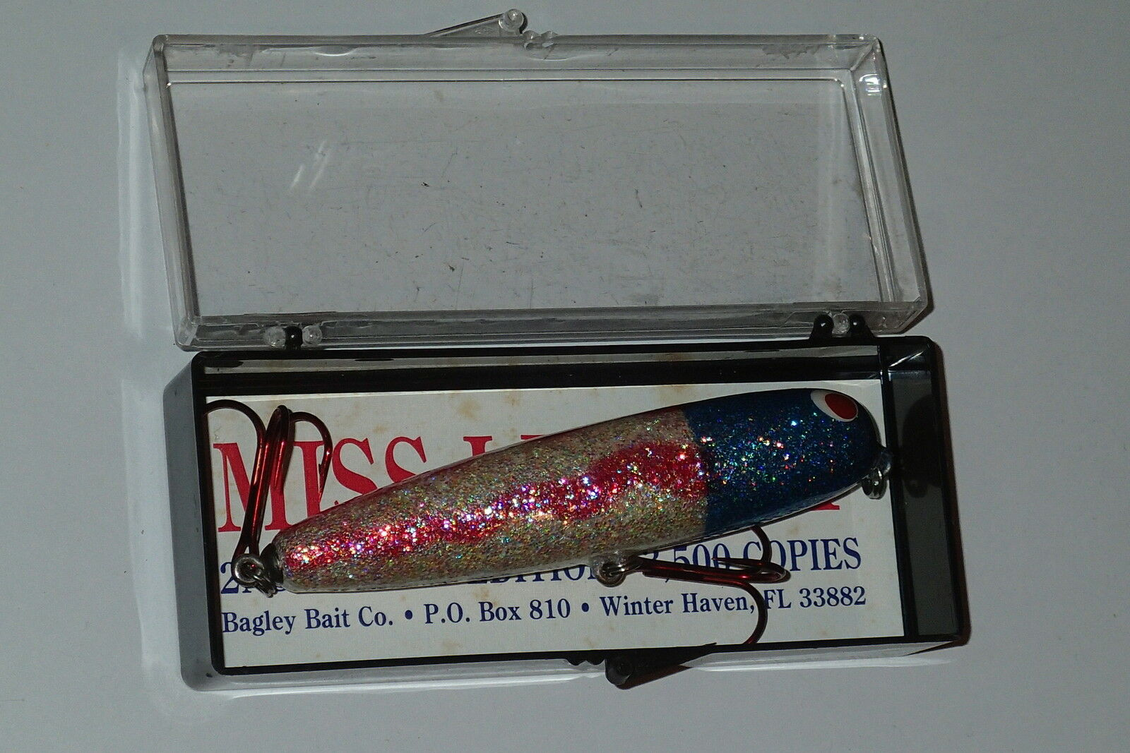Bagley's Miss Liberty Tall Walker USA American Flag Rare Collectible