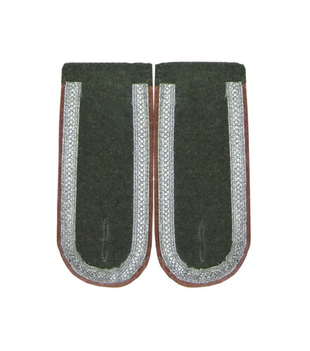 WW2 Repro Piping Colour Option German Army Unteroffizier NCO Shoulder Boards