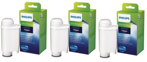 3 Stück Saeco Intenza Brita Philips CA6702//10 Wasserfilter CA6702 new Label