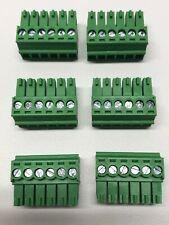 Phoenix Connector Phoenix Contact 6 Pin 35mm Speaker Terminal Block Set Of 6