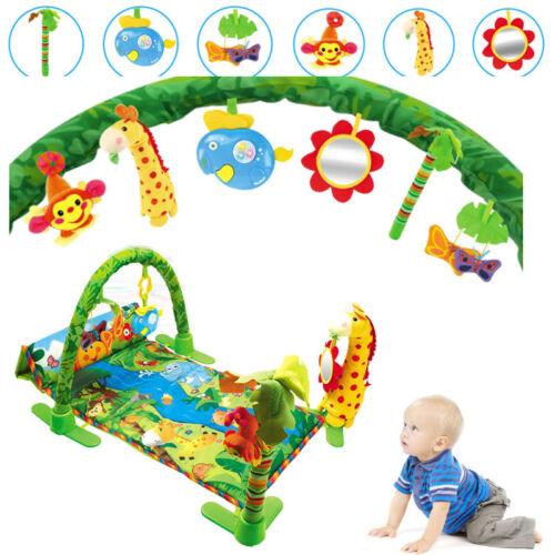 Krabbeldecke Spieldecke Spielbogen Erlebnisdecke Spielmatte Musik Baby Decke DHL