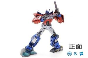 Transformers MU Metal Puzzle IDW Optimus Prime 3-D Laser Cut Steel Model