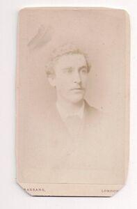 Vintage-CDV-Unknown-Man-Initials-J-D-B-F-1880-Alexander-Bassano-Photo