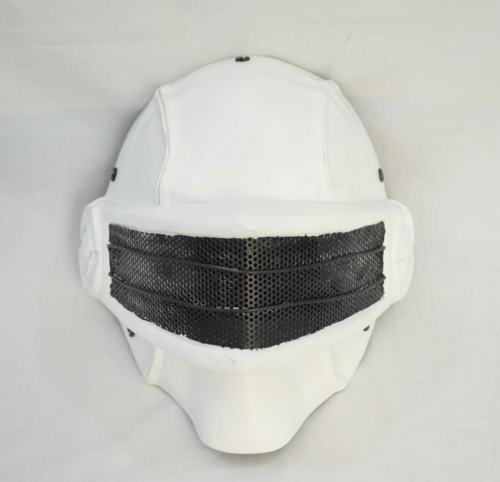 COOL White Airsoft Full Face  Wire Mesh Predection Snake Eye Mask Halloween Prop