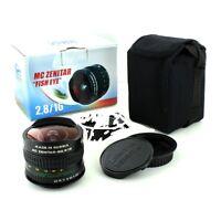 Fisheye Zenitar M /2.8/16mm Sony Nex, Sony E Full Frame Box Usa Warranty