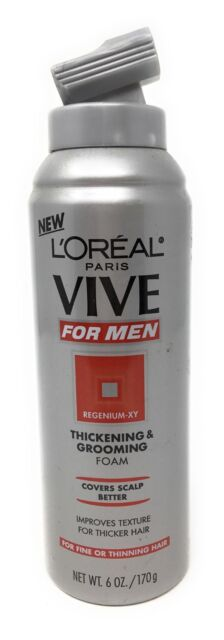 L'oreal Paris Vive For Men Thickening & Grooming Foam 6 Oz. by VIVE