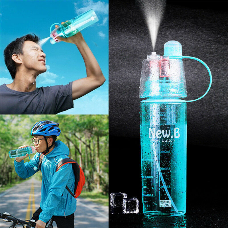 Outdoor Sport Bottle Portable Travel Water Drinking Cup Leak