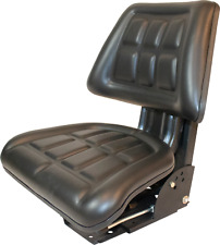 Black Tractor Suspension Seat Fits Massey Ferguson 230 231 234 234hs 260 282