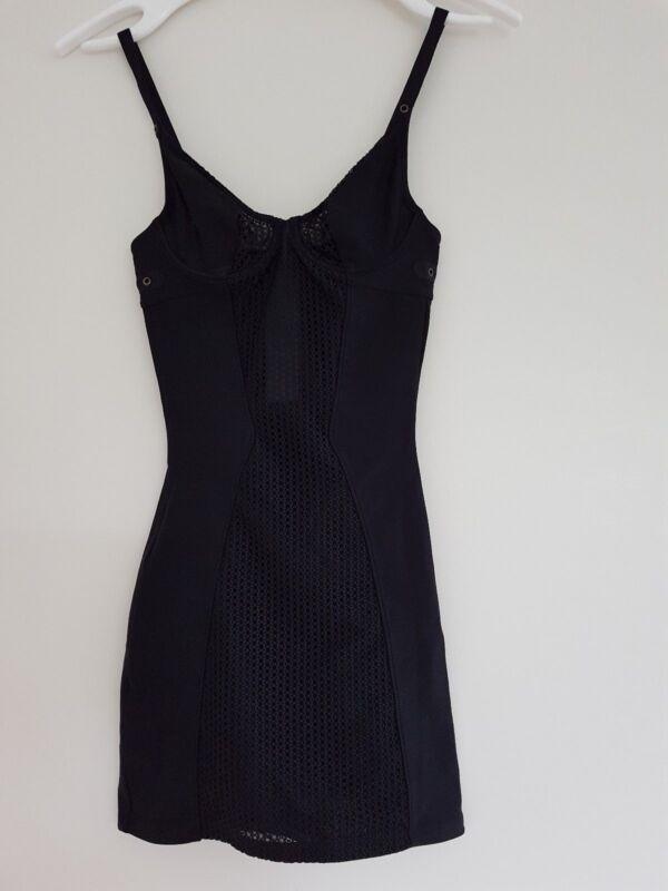 Initiative Wolford Forming Dress Größe 34 B - Farbe Schwarz Blut NäHren Und Geist Einstellen