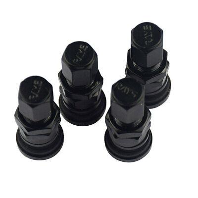 Car Black Tire Tyre Wheel Valve Stems Caps For Jeep All Model 4PCS//SET