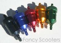 Cnc Fuel Filter Aluminium For Gas Scooters,atvs,dirt Bikes,go Karts