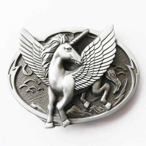 Unicorn Metal Fashion Belt Buckle