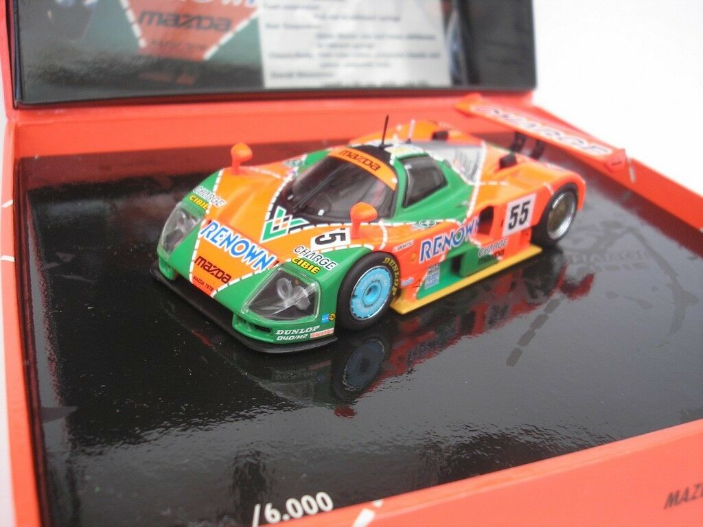 Mazda 787 B  55 24hrs le Mans 1991 Walker 1 43 Minichamps 436911655 Neuf
