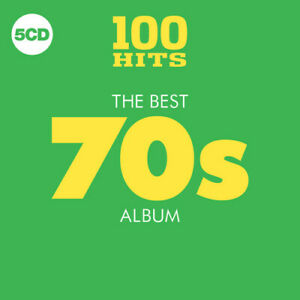 Various-Artists-100-Hits-Best-70S-Album-Various-New-CD-Boxed-Set-UK-Im