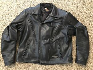 Harley-Davidson-Men-s-FXRG-Series-1-3-in-1-Armored-Heavy-wgt-Leather-Jacket-XL