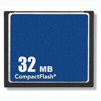 50 X 32mb Compactflash Standard Cf Flash Memory Card Generic W/case Brand