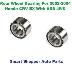 Rear Wheel Bearing For 2002 2003 2004 Honda Crv Ex With Abs Fwd Ebay