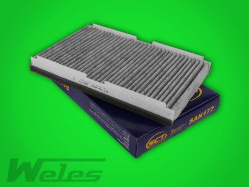 Filterset filtro frase peugeot 307 cc SW 2.0 16v con filtro de carbón activado filtro de gasolina