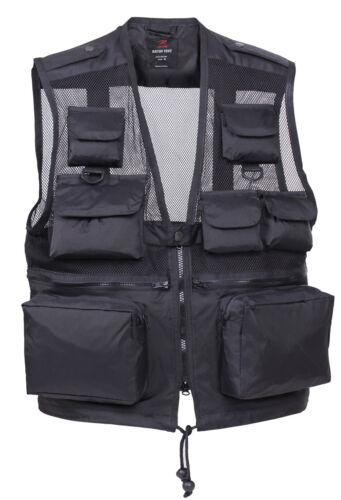 Recon Canotta Nylon Rothco Tactical Viaggio All'acqua Resistente Leggero Nero d1PnxP