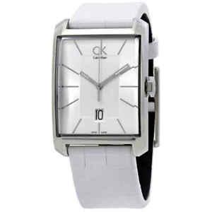 Calvin-Klein-Window-Silver-Dial-Men-039-s-Watch-K2M21120