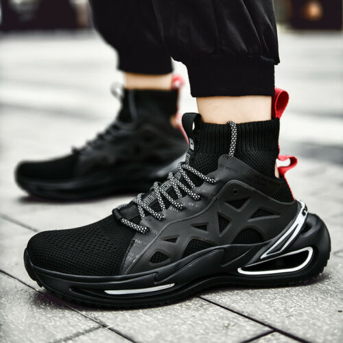 Men/'s Sports Sneakers Shoes Casual Running High Top Shoes Athletic Outdoors Mesh