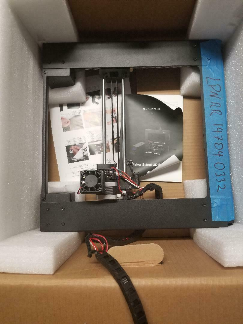 Monoprice Maker Select 3D Printer v2 -13860 with Heat Bed Power Module Expansion