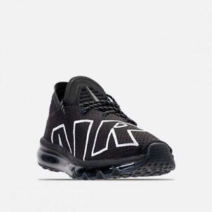 Classic New NIKE AIR MAX FLAIR 2017 Men's Women's Running Shoes Black White 942236 001