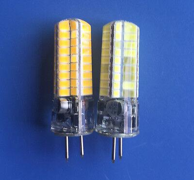 5~10x 5W 72-5730SMD LED Lamp GY6.35 GX6.35 AC12V DC12-24V Silicone Crystal bulb
