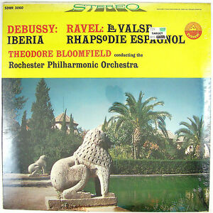 ROCHESTER-PHILARMONIC-ORCHESTRA-Debussy-Ravel-LP-1960-CLASSICAL-SEALED-UNPLAYED